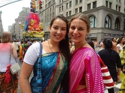 foreign citizens follows indian culture indians can like this video