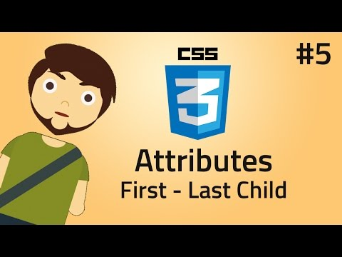 HTML & CSS Basic Structure Of Pseudo Classes Like First-child, Last-child And Only-child
