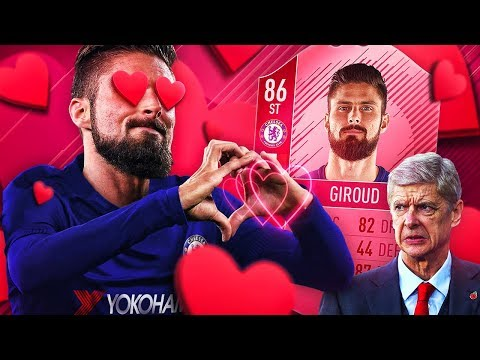 LET'S GET IT ON! THE CHELSEA GIROUD & STRIKER INFORM MOSES TRANSFER SQUAD! FIFA 18 ULTIMATE TEAM