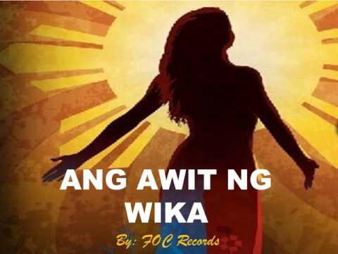Ang Awit ng WIKA
