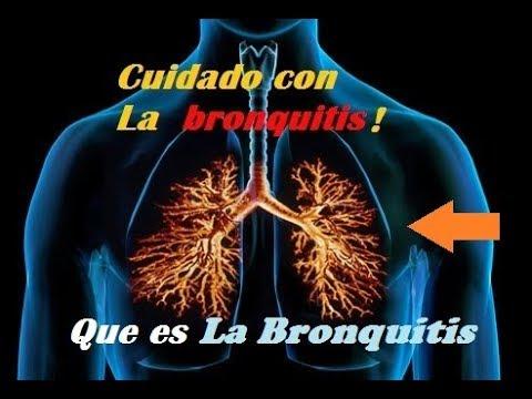 que es la bronquitis  youtube