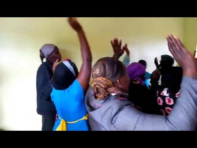 Praying for Brother Josephat & Wife WFF Moi's Bridge Kenya 9-2-2018