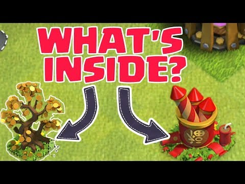 CLASH OF CLANS NEW OBSTACLE . WHAT'S INSIDE IT?