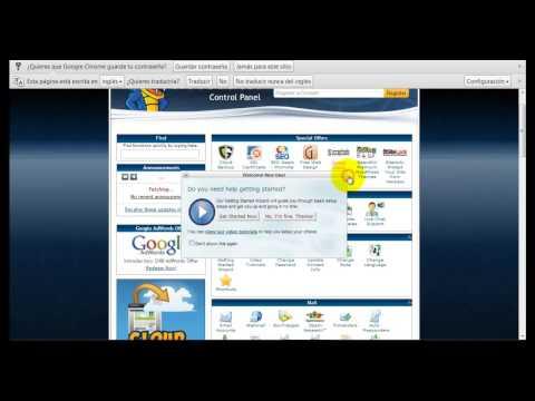 De la A a la Z - Como Registrarse En Hostgator, Registrar Dominio y Subir Pagina por FTP