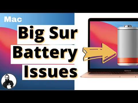 macOS Big Sur Battery Drain Issues