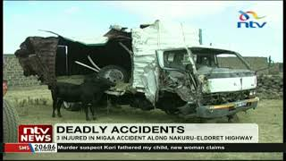 2 people die in Migaa accident involving lorry, 2 cars