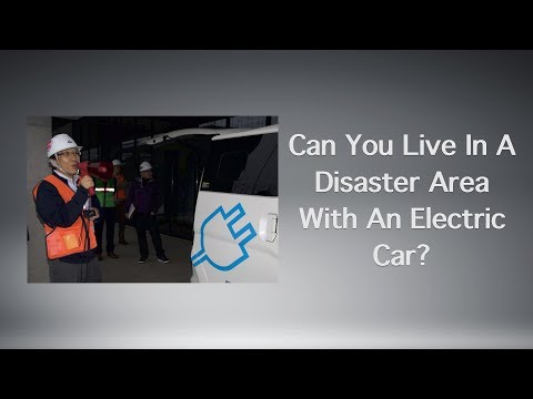 Can You Live In A Disaster Area With An Electric Car?