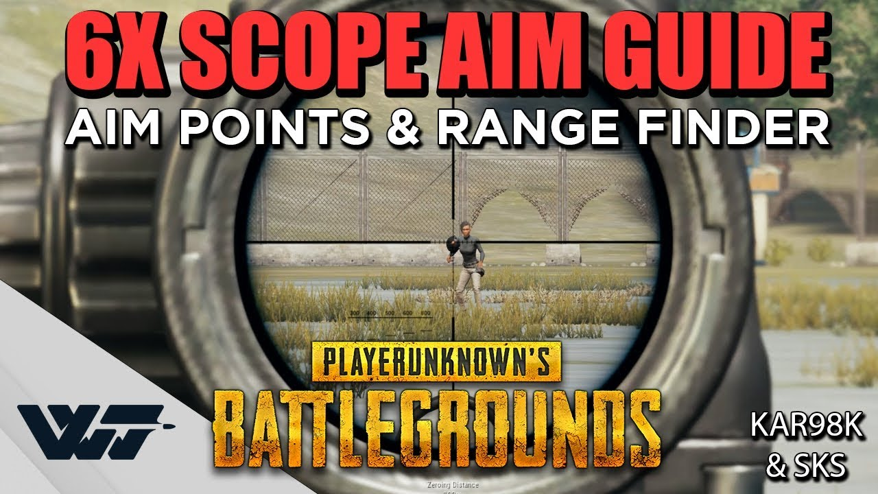Download GUIDE: How to AIM with the NEW 6X SCOPE + Range Finder (Kar98k + SKS) - PUBG