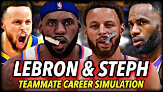 What If LEBRON JAMES & STEPHEN CURRY Were On The SAME TEAM? | NBA 2K21 Next Gen Career Simulation
