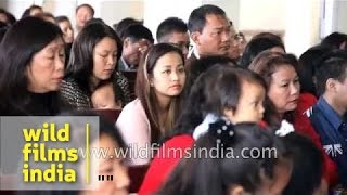 Christianity is flourishing in India: Christmas in Mizoram