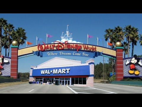 Closest Wal Mart To Disney World On 535 4 24 18 Youtube