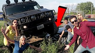 WE CRUSHED A CAR with A MONSTER TRUCK