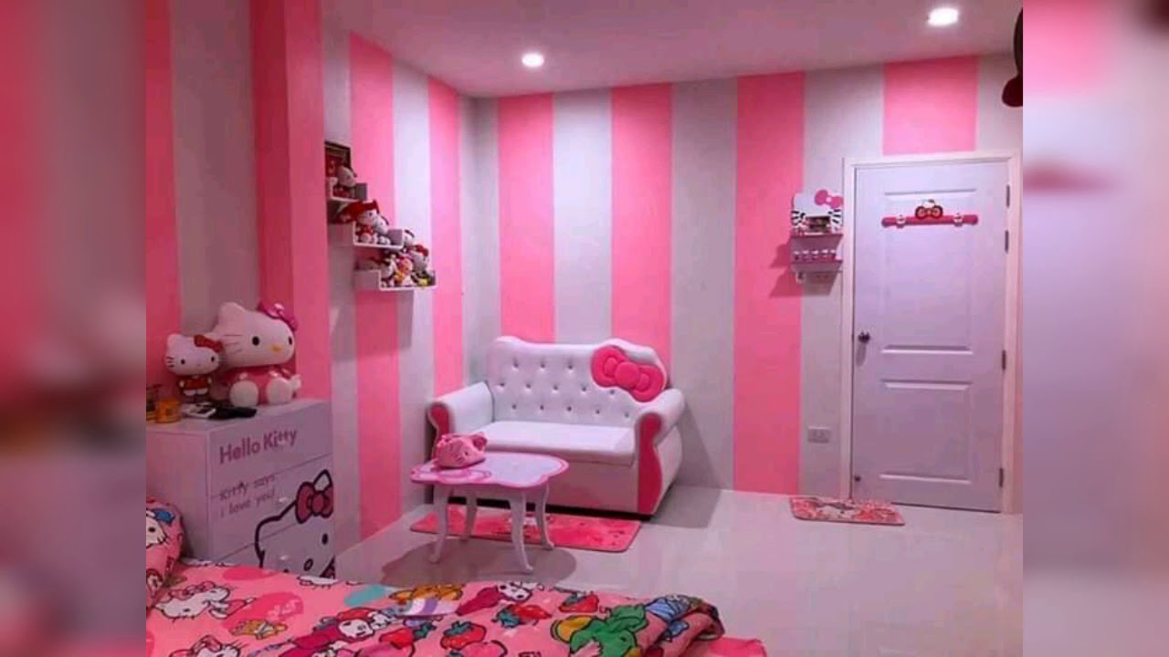 Desain Kamar Hello Kitty Buat Anak Wajib Coba Youtube