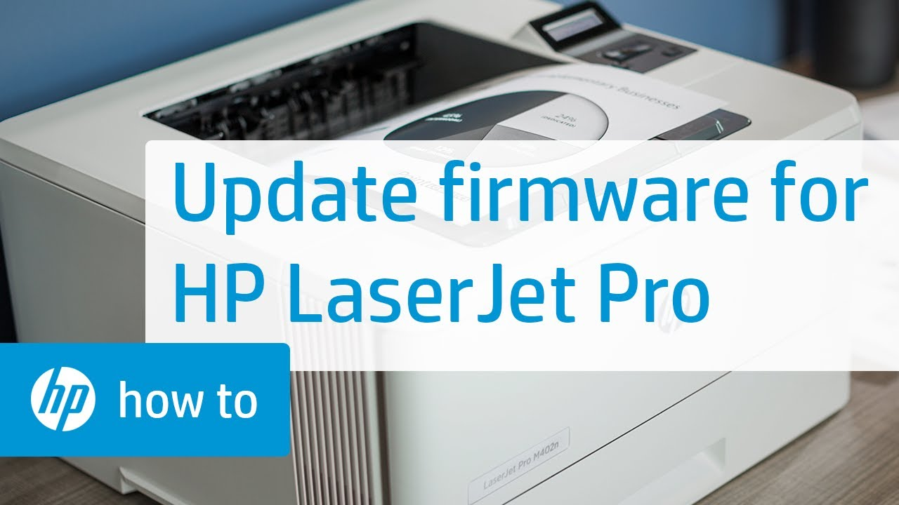 how to update brother firmware printer