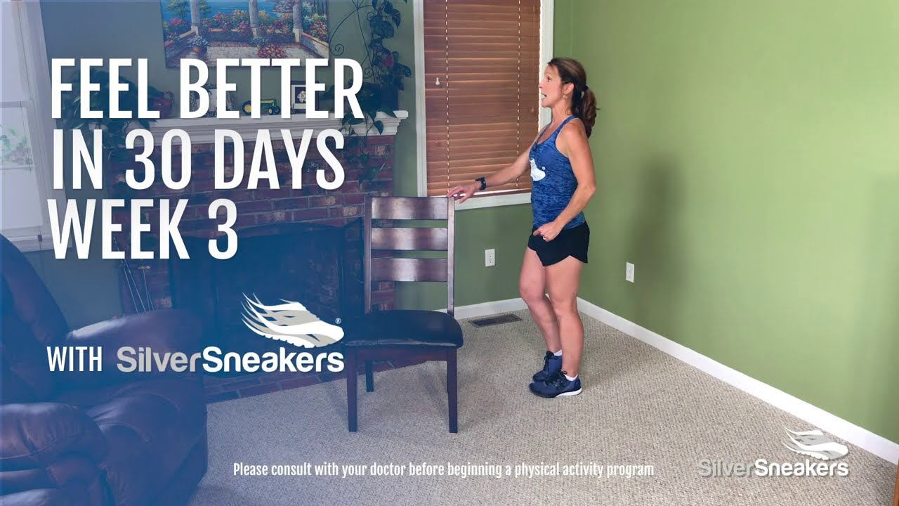 silver sneakers 8 minute cardio workout