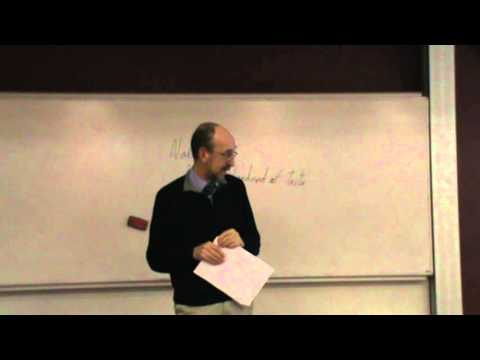 """Dr Harrison & Dr Bregazzi """"Christian healing ministry: virtue, variability & wisdom"""" 1/2 (Lecture)"""