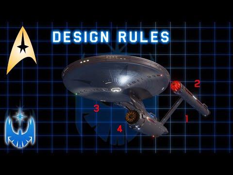 The Eight Star Fleet Ship Design Rules