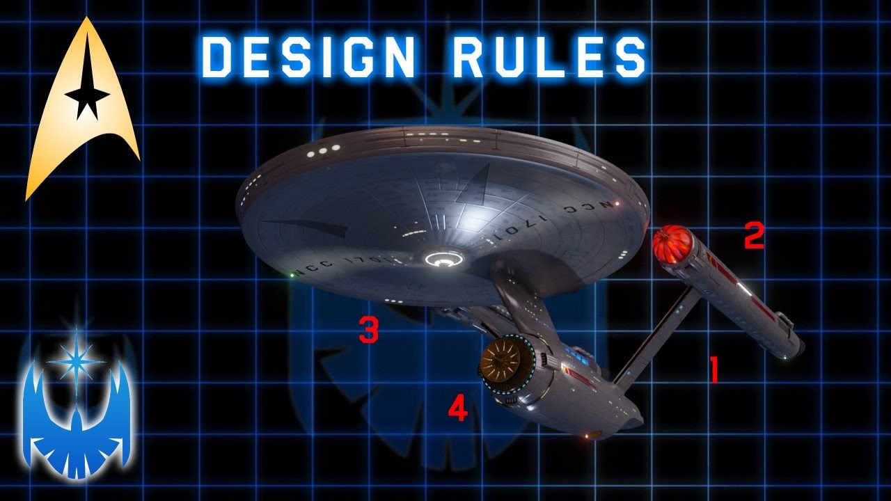 The Eight Star Fleet Ship Design Rules