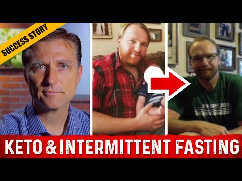 Before & After with Dr. Berg and Chris Hill (Keto and Intermittent Fasting)