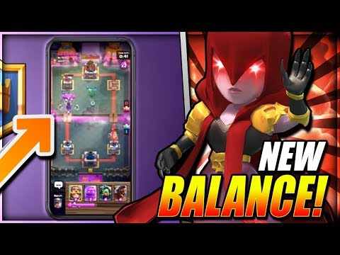 *NEW!* WITCH REWORK REVEALED!? SEASON 4 BALANCES & DISCUSSION - Clash Royale