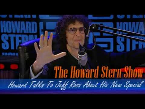 Stern Show Clip   Howard Talks To Jeff Ross About His New Special