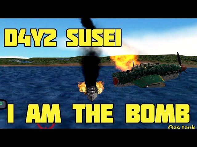 Gunship Sequel: WW2 - D4Y2 Suisei has one purpose... | New Update