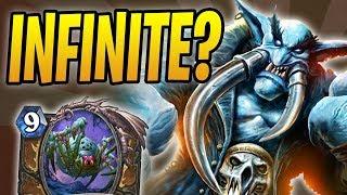INFINITE UNDATAKAHS?! | Da Undatakah Hadronox Druid | Rastakhan's Rumble | Hearthstone