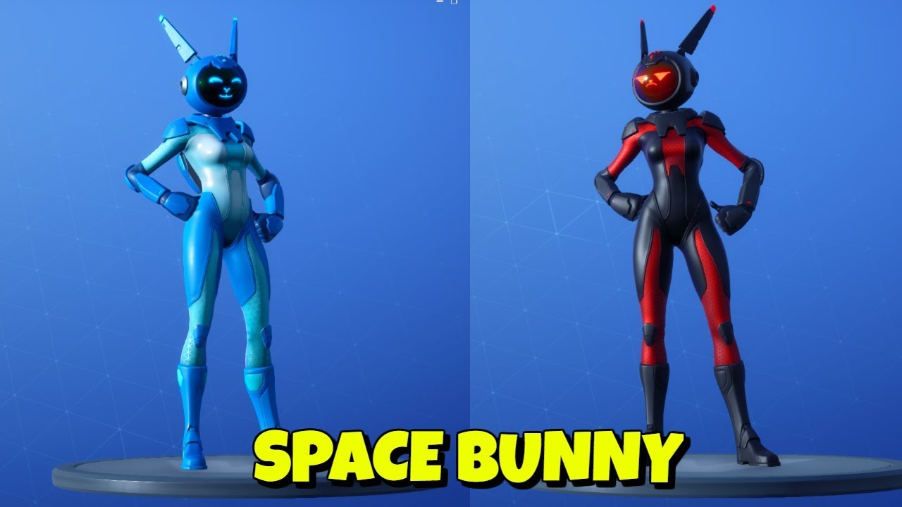 new easter space bunny skin in game fortnite - space skin fortnite