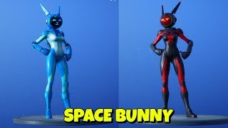 NEW EASTER SPACE BUNNY SKIN In-Game Fortnite