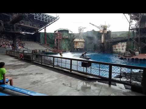 Universal Studios Singapore - Waterworld 20170413
