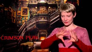 "Crimson Peak: Mia Wasikowska ""Edith Cushing"" Official Movie Interview"