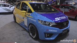 2015 Honda Fit Tuner Cars at #SEMA2014 - Spoon, Bisi, Tjin