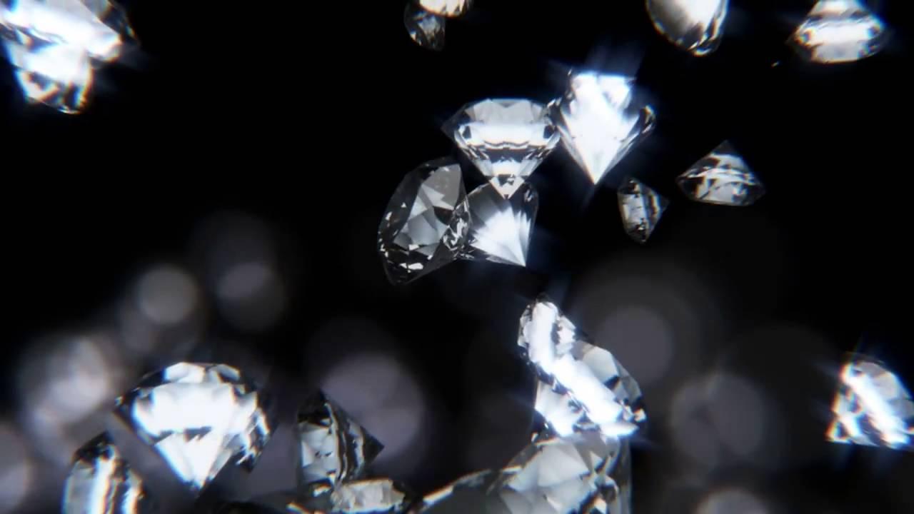 diamonds falling youtube