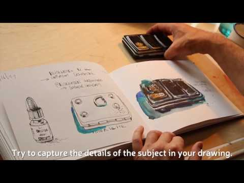 Sketchbook Tip from Felix Scheinberger