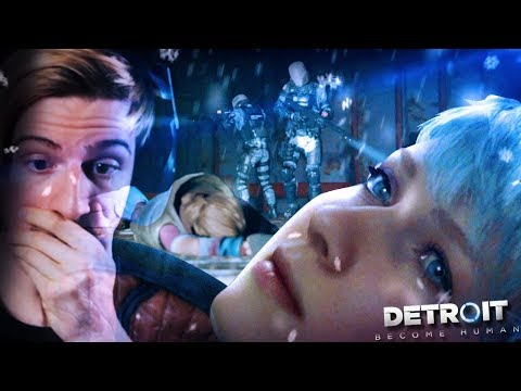 DO NOT MOVE AT ALL. || Detroit Become Human (Part 8)