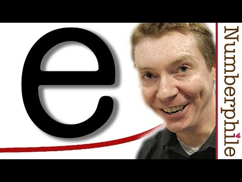 e (Euler's Number) - Numberphile