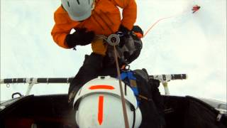 01 04 14 Chair Peak Avalanche Sar K9 Insertion