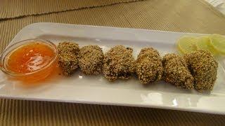 Sesame Chicken Kabab | Sanjeev Kapoor Khazana