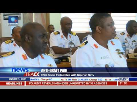 Anti-Graft War: EFCC Seeks partnership With Nigerian Navy