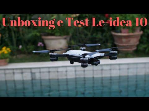 Unboxing E Test Le-idea 10 GPS Drone