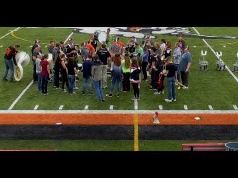 Mediapolis High School Marching Show 2017