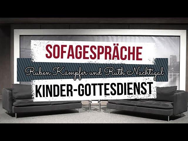 DeineKirche | Sofagespräche | Kindergottesdienst