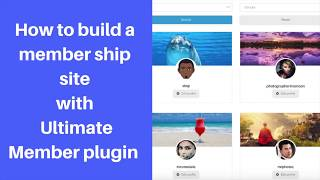 Ultimate member plugin tutorial : How to build member sites using ultimate member. #ultimatemember