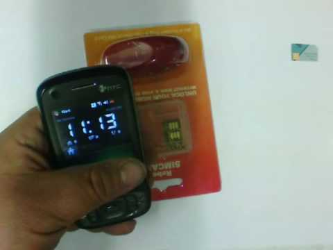 HTC tytn II windows mobile based unlock using rebel simcard II
