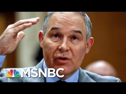 Bloomberg: White House Cooling On Support For Edward Scott Pruitt | Hardball | MSNBC