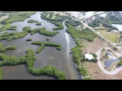 Fly Over Coral Creek, Placida, Florida