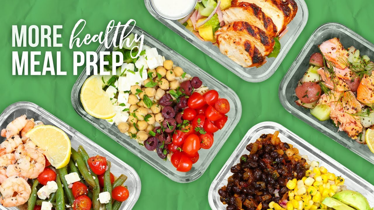 5 More Healthy Meal Prep Ideas New Year 2018 Youtube
