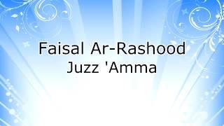 Gambar cover Faisal Ar Rashood - Juzz 'Amma