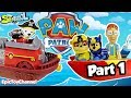 Paw Patrol Nickelodeon Sea Patrol Captain Turbot Finds Paw Patrol Pirate Pups at Beach Lookout