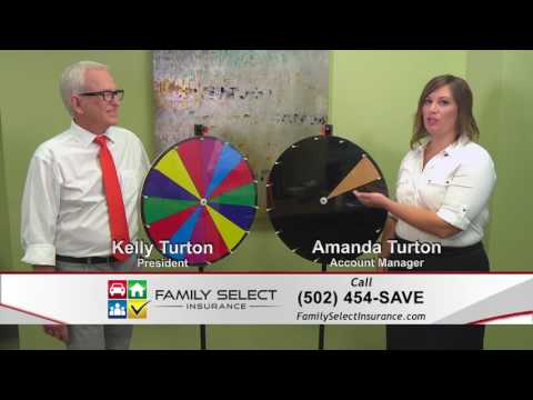"""Family Select Insurance TV Ad """"Wheel of Fortune"""" - Louisville KY Insurance Agency"""